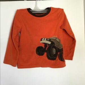 Boys Monster Truck Fleece Shirt , Iron Man Tee